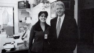 PINCHA EN LA IMAGEN PARA VER LA GALERÍA   Monica Lewinski y Bill Clinton / Gtres