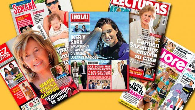 Portadas de las revistas 14-06-2017