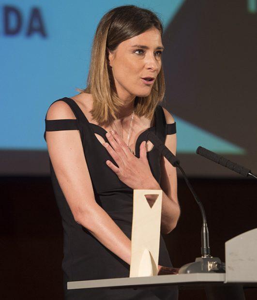 La periodista Sandra Barneda