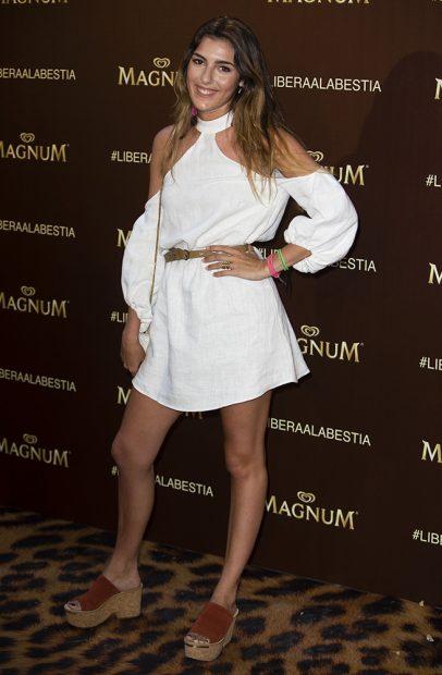 Anna Ferrer Padilla durante su debut /Gtres