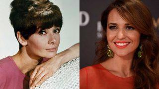 Audrey Hepburn y Paula Echevarría. / Gtres