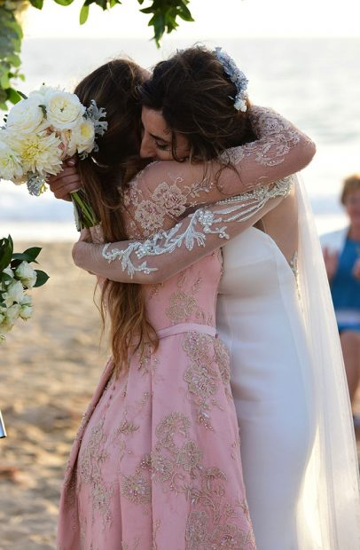 La actriz y su hija el día de la boda de la humorista /Gtres