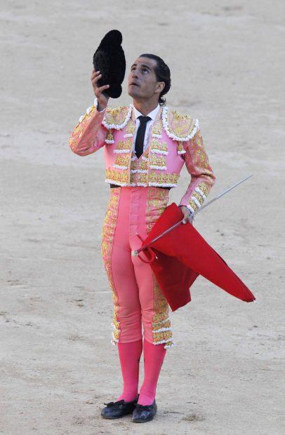 El torero en la Feria de San Isidro del 2015/Gtres