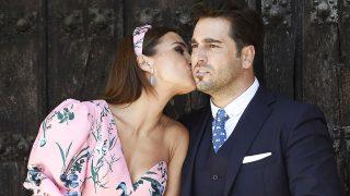 David Bustamante y la actriz Paula Echevarría durante la comunión de su hija Daniella /Gtres