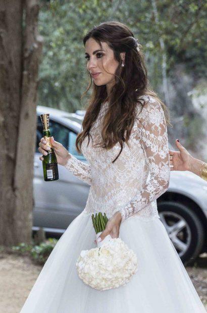 Marc Bartra y Melissa Jiménez ya son marido y mujer
