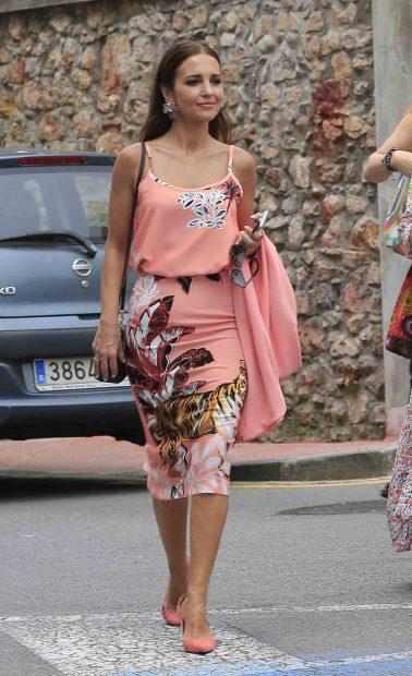 Paula pasea sin David por las calles de Candás /Gtres
