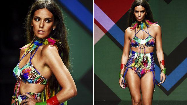 Cristina Pedroche en su debut como modelo