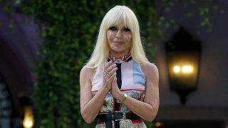 La diseñadora Donatella Versace. / Gtres