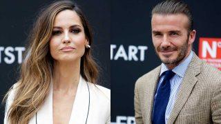 Ariadne Artiles y David Beckham / Gtres