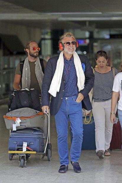 Bigote Arrocet en su llegada a España /Gtres