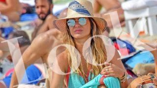 Elena Tablada durante unas vacaciones en Ibiza / LOOK