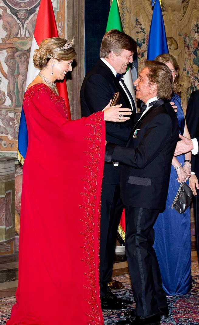Máxima de Holanda Looks Rojos