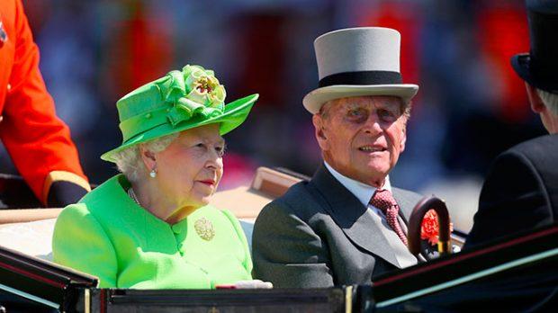 Felipe de Edimburgo y la Reina