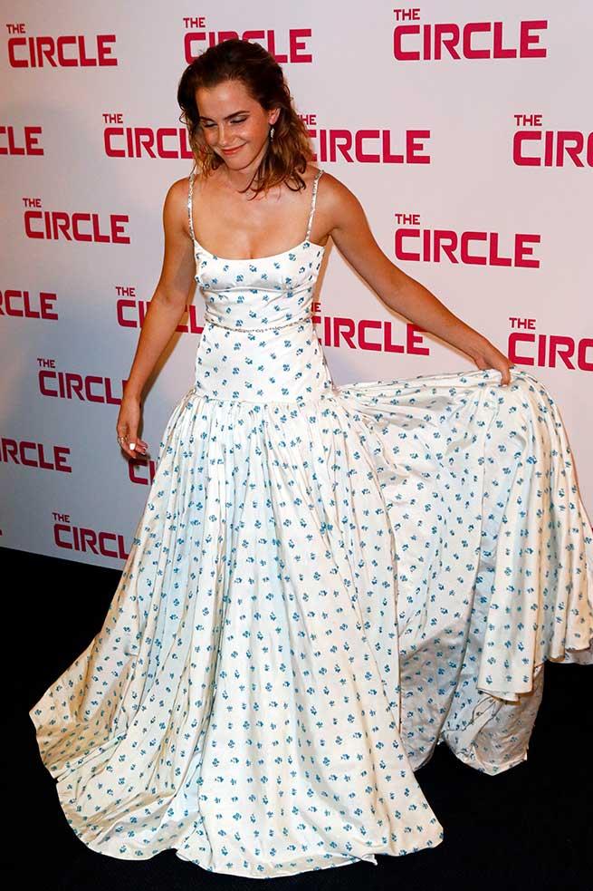 Emma Watson Vestido Miu Miu