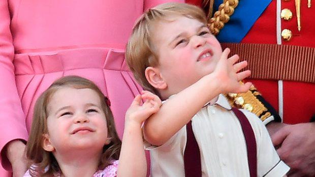 Jorge y Carlota de Cambridge