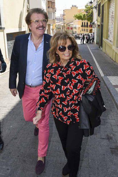 María Teresa Campos y el Edmundo A