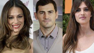 Sara Carbonero, Iker Casillas y Eva González en un fotomontaje /LOOK