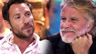 Antonio David y Edmundo Arrocet en el último programa de 'Supervivientes' / Telecinco