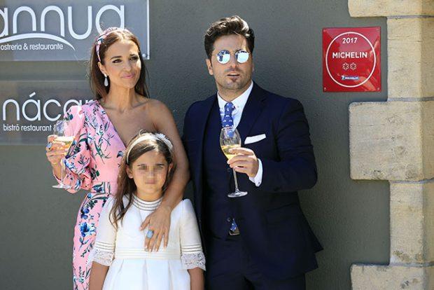 David Bustamante, Paula Echevarría, Daniella Bustamante