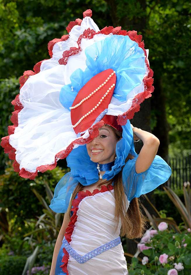Royal Ascot 2017 Sombreros Tocados Pamelas