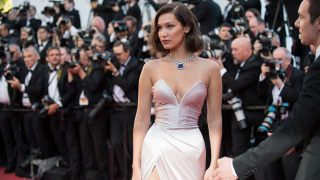 Bella Hadid en el Festival de Cine de Cannes. / Gtres