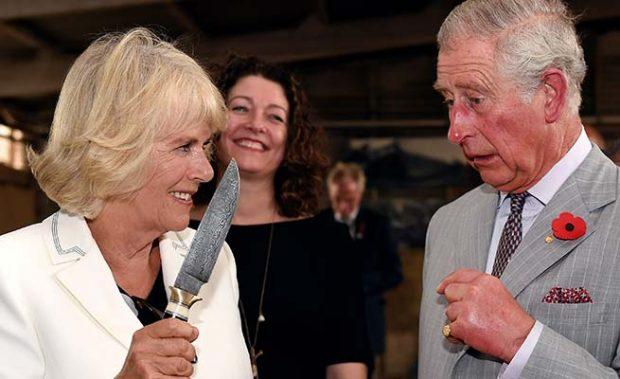 Camilla Parker y el príncipe Carlos