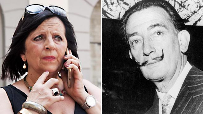 La hija de Dalí y Salvador Dalí