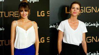 Elena Ballesteros y Amelia Bono en la oresentación de LG Signature en España / Gtres
