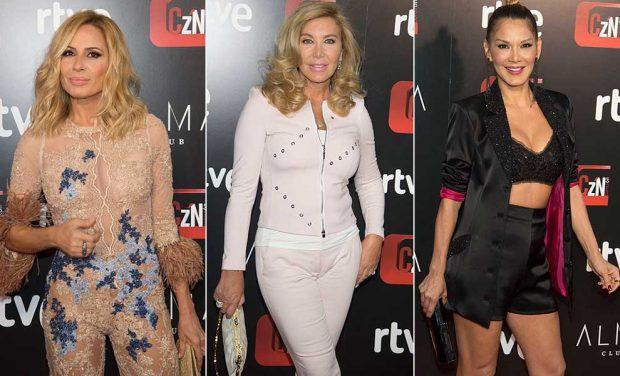 Marta Sánchez, Norma Duval e Ivonne Reyes