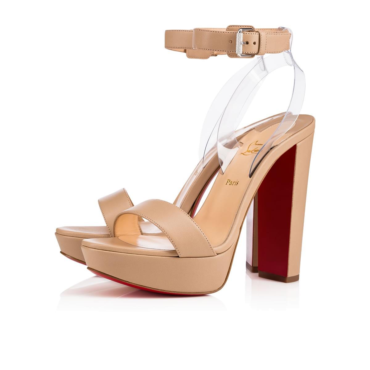 Christian Louboutin Zapatos Nude Colección 2017
