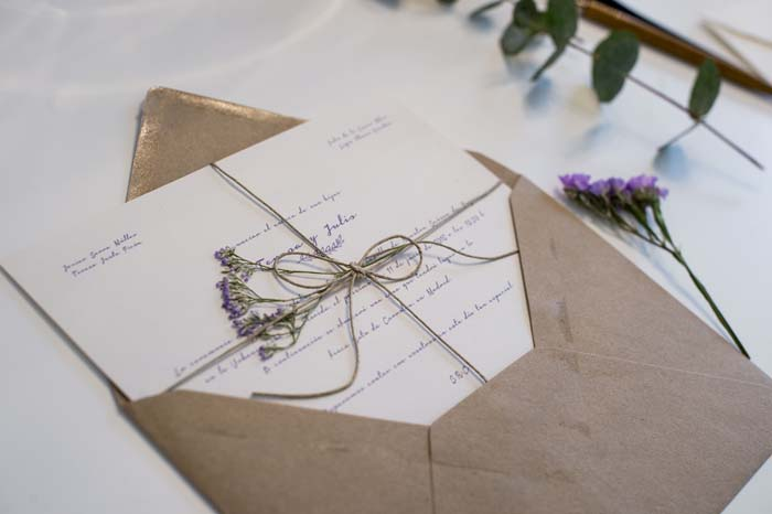 Invitación Boda Tendencias