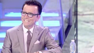 José Ortega Cano durante su reaparición en Telecinco /Mediaset