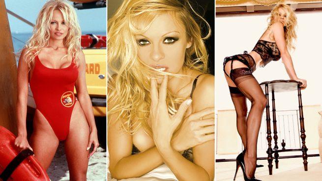 La evolución más sensual de Pamela Anderson