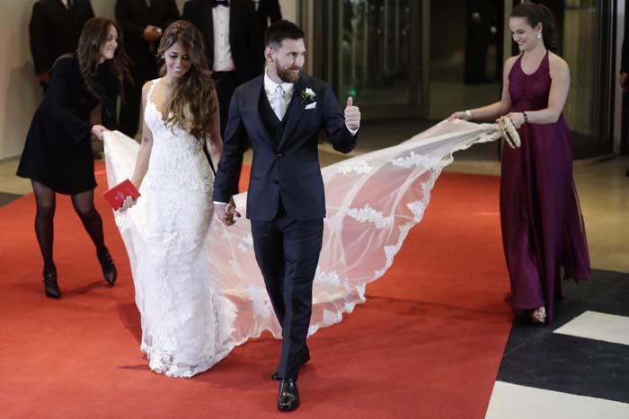 Las WAG's del Barça   Invitadas deluxe en la boda de Messi