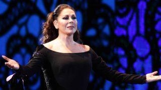La cantante Isabel Pantoja durante un concierto /Gtres