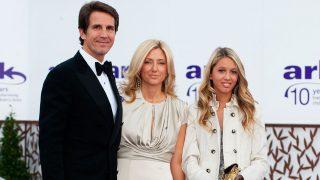 Pablo de Grecia con su mujer Marie Chantal y su hija Olympia / Gtres