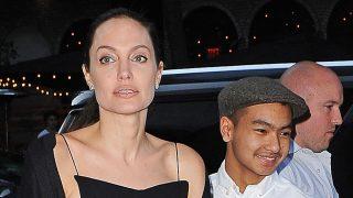 PINCHA EN LA IMAGEN PARA ACCEDER A LA GALERÍA / Angelina Jolie y su hijo Maddox en Hollywood en 2017 / Gtres