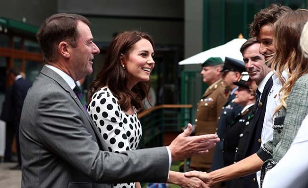 Kate Middleton y Feliciano López