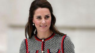 La Duquesa de Cambridge, muy sofisticada con un vestido de Gucci / Gtres