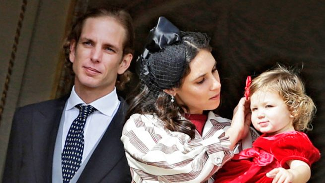 Tatiana Santo Domingo, Andrea Casiraghi y su hija India