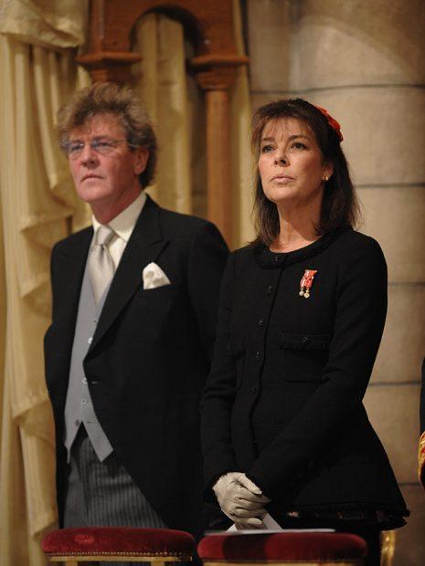 Ernesto de Hannover con Carolina de Mónaco