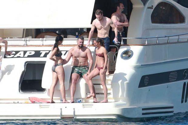 Las imágenes que muestran las vacaciones románticas de la pareja de actores Michael Fassbender y Alicia Vikander