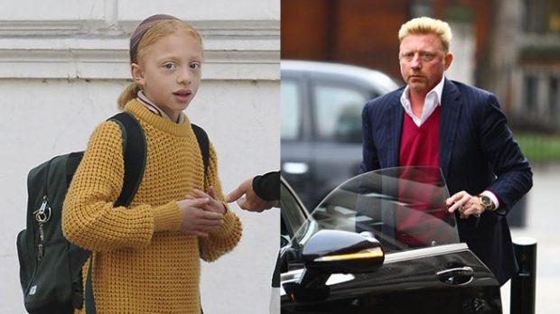 Boris Becker y su hija Anna