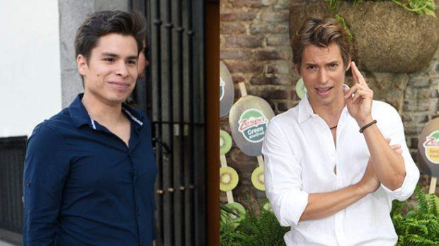 Carlos Baute y José Daniel Arellán