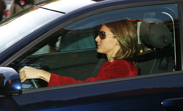 Letizia aparcaba en su domicilio este Audi que le regaló Felipe cuando eran prometidos