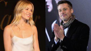 PINCHA EN LA IMAGEN PARA ACCEDER A LA GALERÍA / Montaje Brad Pitt y Sienna Miller / Gtres