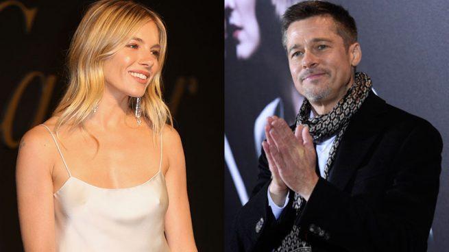 Brad Pitt y Sienna Miller