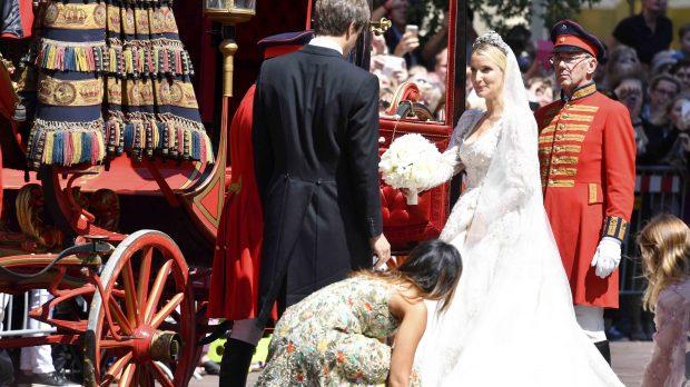 Las imágenes de la boda religiosa de Ernesto Augusto de Hannover y Ekaterina Malysheva