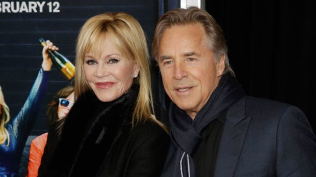 Melanie Griffith y Don Johnson