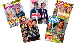 Las portadas de las revistas del lunes /Fotomontaje LOOK